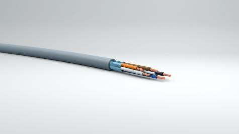 Multiconductor cable_T125 Multi XPE_PVC S _2x0,35 à 4x0,50mm² drain SC